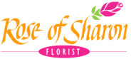 Rose of Sharon Florist Header Logo